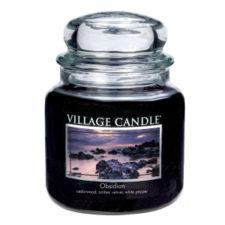 village-candle-vonna-sviecka-v-skle-tajomny-obsidian-obsidian-16oz