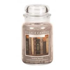 village-candle-vonna-sviecka-v-skle-nadych-minulosti-leather-bound-26oz