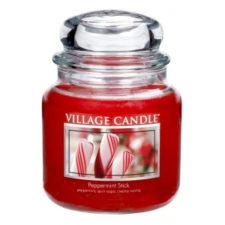 village-candle-vonna-sviecka-v-skle-matove-lizatko-peppermint-stick-16oz