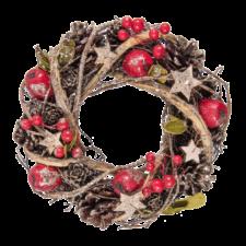 6H1560S-veniec-vianocny-25cm-clayre-eef